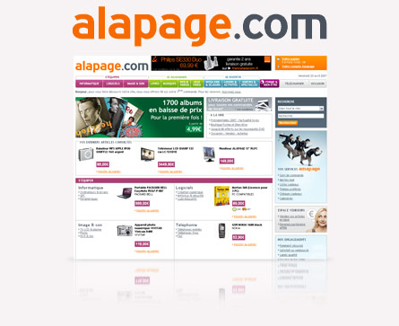 alapage nouvelle version