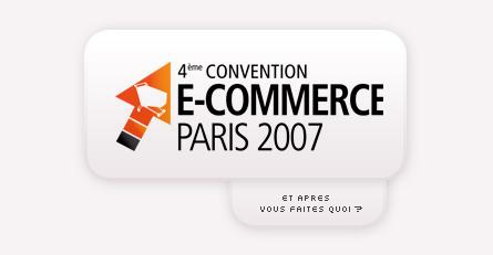 convention e-commerce 2007