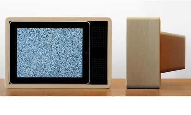 iPad retro TV