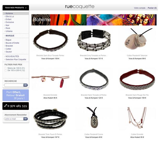 Rue Coquette - Bijoux, bracelets