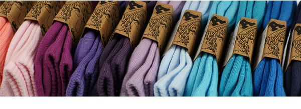 Archiduchesse - chaussettes colorées made in France
