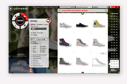 Converse acheter en ligne