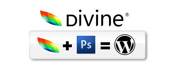 Divine, créer un template wordpress depuis Photoshop
