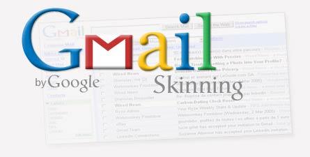 gmail skinning