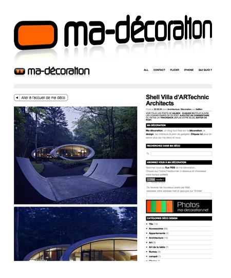 ma décoration : blog déco design