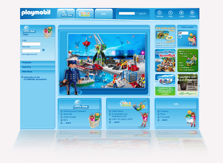 playmobil e-commerce shopping online
