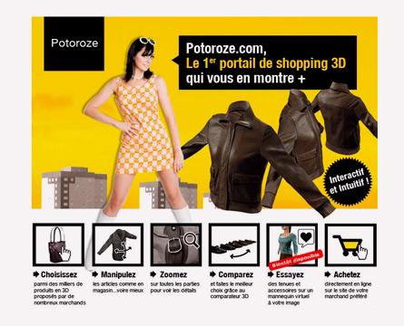 potoroze - shopping 3D