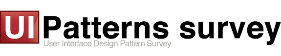 UI Pattern web survey